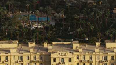 Le Winter Palace Louxor et sa piscine
