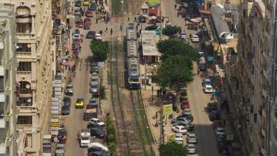 Gare et avenues d'Alexandrie