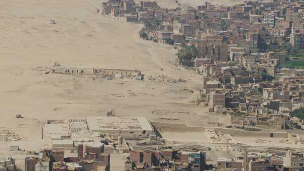 Abydos,Osiréion,temple funéraire de Séthi Ier