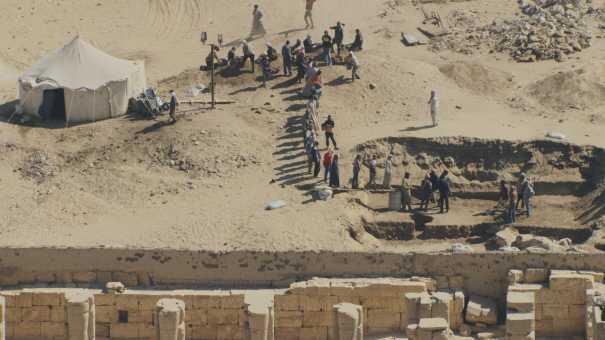 Abydos,Osiréion,temple funéraire de Séthi Ier,Temple de Ramsès II