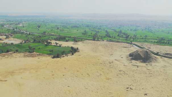 la pyramide de Hawara