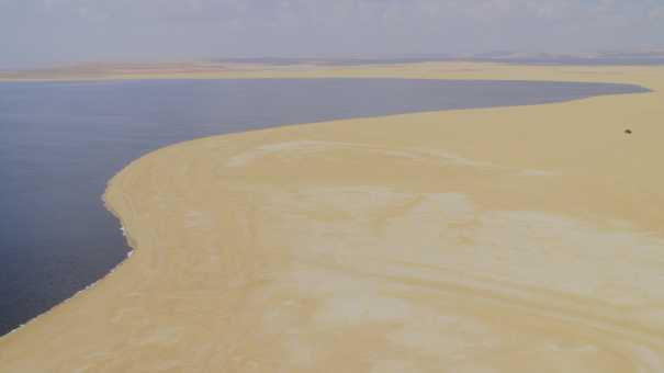 Le lac Qarun