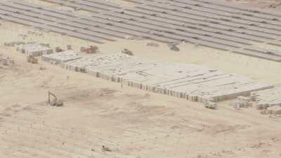 Centrale solaire, panneaux solaires