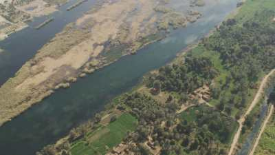 Désert et le Nil