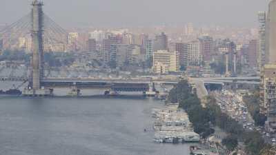 Bords du Nil en route vers le nord et le pont en construction