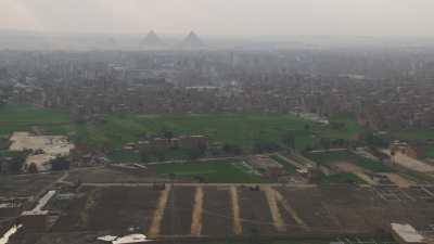 Du Nil vers les pyramides de Gizeh