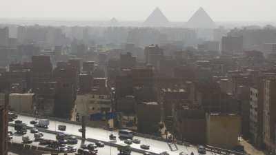 Voie express vers pyramides et travelling buildings