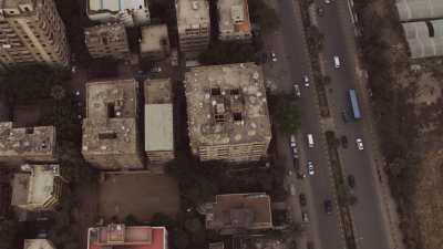Petits immeubles des quartiers périphériques