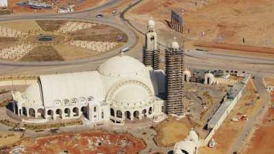 Le chantier de la Nouvelle Capitale, la cathédrale de la Nativité