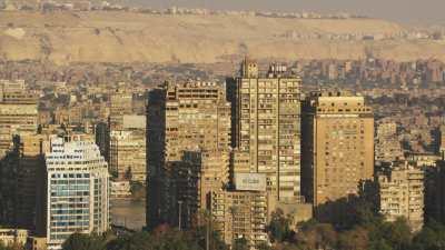 Arrivée sur le Nil et vers le centre ville et la tour du Caire