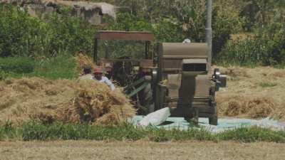 Nettoyage du blé