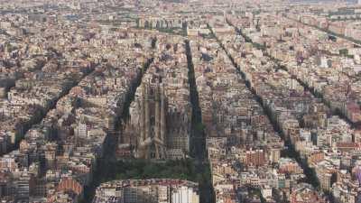 Travelling vers la Sagrada Familia