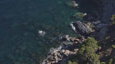 Petit port et bateaux près de Cadaqués