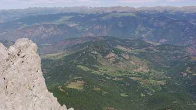 Pic de Costa Cabirolera, Parc Natural del Cadf-Moixero