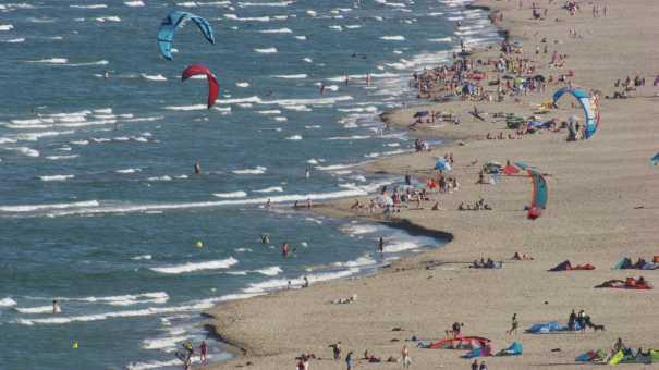 Plages et resorts sur le littoral près de Tarragone