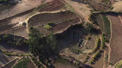 Cultures et irrigation des champs, Tigray