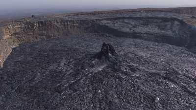 Le cratère nord du Erta Ale, lave en fusion