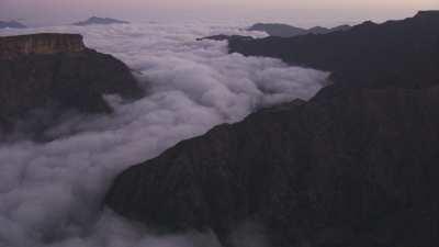 Descente dans les nuages vers les Danakils
