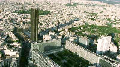 La Tour Montparnasse, Jardin du Luxembourg, Panthéon
