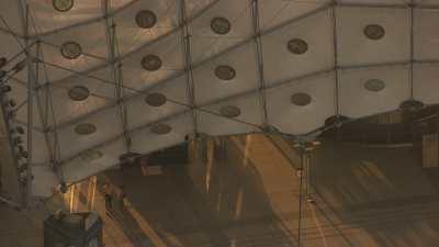 Très gros plans sur la Grande Arche de la Défense