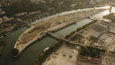 île Seguin avant la reconstruction