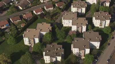 Quartiers résidentiels, immeubles