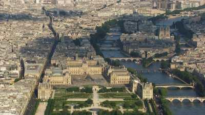 Le Louvre, l'Ile de la Cité, Ile Saint-Louis
