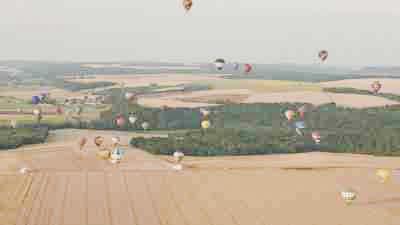 Suivi de montgolfières