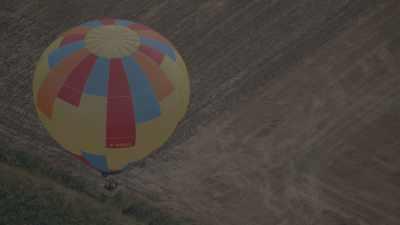Rassemblement de montgolfières