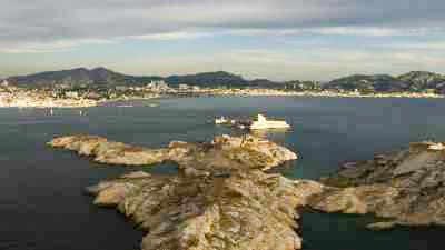 Les îles du Frioul et le Chateau d'If
