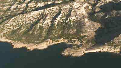 Les calanques de Cassis,Marseille