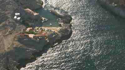 La côte rocheuse, petites criques