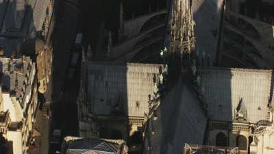 L'île de la Cité et la Cathédrale Notre Dame de Paris