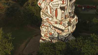 L'île Saint-Germain, le Parc et la sculpture de Dubuffet