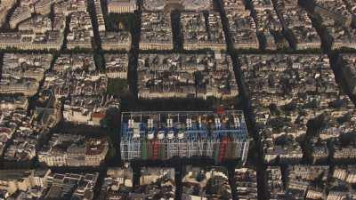 Le Centre Georges Pompidou et son quartier
