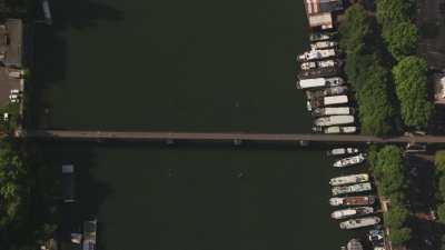 Les quais de Boulogne-Billancourt et l'île Saint-Germain