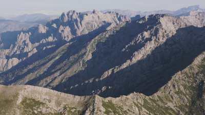 Région montagneuse de Haute Corse