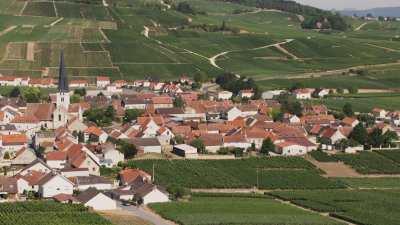 Vignes et villages de campagne