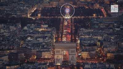 L'Axe historique de Paris et l'Arc de Triomphe