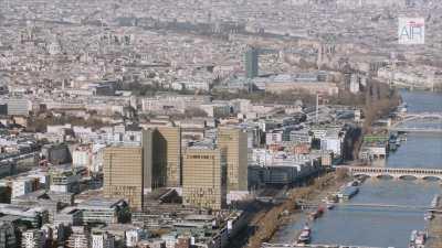 La Bibliothèque Nationale de France et le paysage de l'Est parisien