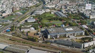 La Philharmonie de Paris et le Parc de la Villette