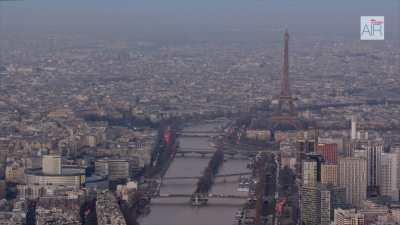 Paris Ouest, les quartiers de La Muette et Passy au crépuscule