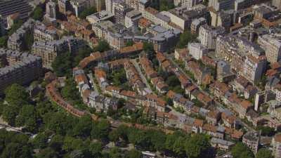 Le boulevard périphérique de Paris entre la Porte de Sèvres et la Porte de Montreuil