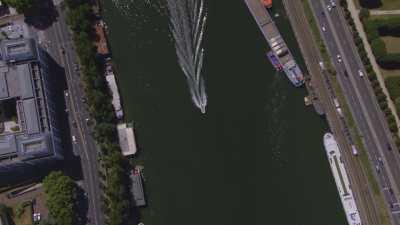 Topshots sur la Seine à Boulogne-Billancourt