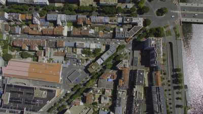 Topshots sur le quartier du Pont de Sèvres et du Trapèze à Boulogne-Billancourt