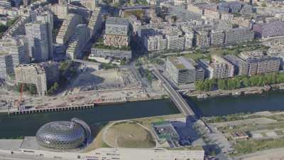 Boulogne-Billancourt et le quartier du Trapèze
