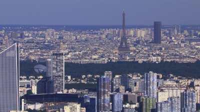 Paris la Défense et l'Axe Historique de Paris