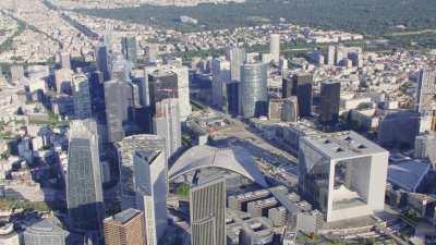 Paris la Défense et le secteur Arche Sud / Les Terrasses de Nanterre