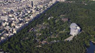 La Fondation Louis Vuitton et le Jardin d'Acclimatation