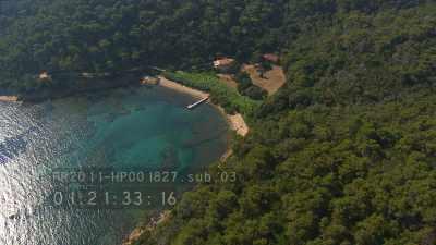 Ile de Port-Cros et fort de Port Man